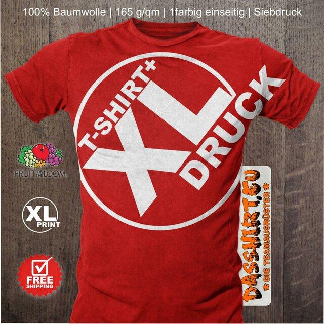 competitive price ffb2c a5409 50 bedruckte T-Shirts   T-Shirt Druck   Siebdruck   Firmen, Vereine, Bands,  Abi